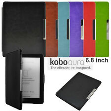 New Auto Sleep Magnetic Leather Case Cover For KOBO AURA HD 6.8 inch eReader
