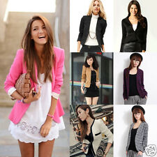NEW Womens Smart Casual One-Button Plain KZ PZ FZ BZS Blazer