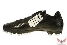 New 2014 Nike Mens Vapor Speed Low TD Football Cleats RB WR Black/White All Size