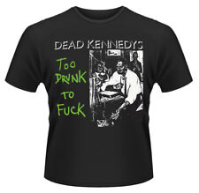 Dead Kennedys 'Too Drunk To F**k (Single)' T-Shirt - NEW & OFFICIAL!
