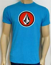 Volcom Stone Cognito Tee Mens Turquoise Blue T-Shirt New NWT