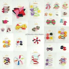 NWT GYMBOREE HAIR CLIPS Ribbon Bows Flowers Buttons BTS Holiday Hearts U-PICK