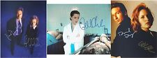 "X-Files - Gillian Anderson +/- David Duchovny 10 x 8"" Signed PP Autograph"