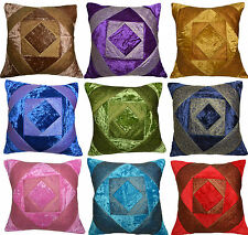 "Cushion Covers 16"" 40cm 24"" 60cm Velvet Brocade Scatter Sofa Pillow Replacement"