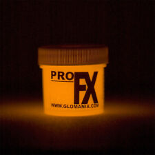 Glow in the Dark ORANGE Paint 1-2oz pot, luminescent, star ceiling, cosmic paint