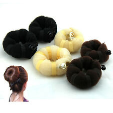 1x Hot Buns 2pcs(1 large 1 small) Hair elegant Magic Style bun Maker 3 colors