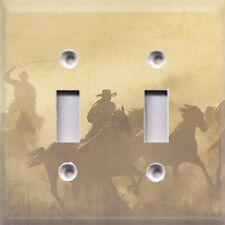 Wild West ~ Round Up  ~Light Switch Plate Cover ~ Home Decor