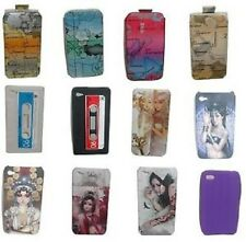 COVER BACK rigide TPU SILICONE doux HOUSSE COQUE ETUI POUR Apple iPhone 4 4G 4S