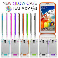 Luminous Reveal Light Up Glow In The Dark Case Cover Skin For Samsung Galaxy S5