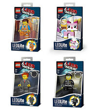THE LEGO MOVIE KEYLIGHT LED TORCH - CHOOSE YOUR DESIGN BRAND NEW EMMET, UNIKITTY