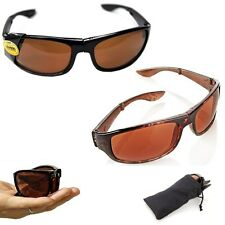 2-pack hd vision fold-away as seen on tv sunglasses non-retail packaging