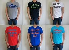 New HOLLISTER  Men Muscle Fit Dixon Lake Ramona T-Shirt Tee By Abercrombie