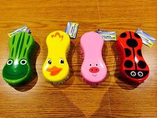 * Cleaning Scrub Brush ** FROG, DUCK, PIG or LADY BUG ** (6 inches)