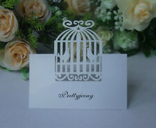 Wedding Laser Cutting Birdcage Table Invitation Name Card Favors Decoration