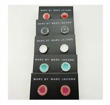 Free shipping Marc by M Jacobs Letters Disc Earrings 9 color
