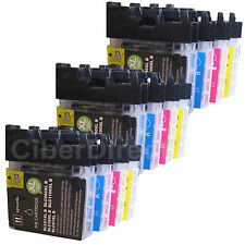 12 CiberDirect Compatible LC980 Ink Cartridges for Brother Printers. VAT INVOICE