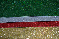 A4 Southfield Glitter Card Loose Sheets in Many Colours Mixed Colour Pack Avail