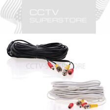 CCTV Security Camera Cable Video Power BNC DVR 10FT 20FT 30FT 50FT 75FT 100FT