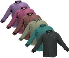 MENS MANS PURE ALL SILK LONG SLEEVE SHIRT - SIZE S, M, L, XL- BARGAIN PRICE