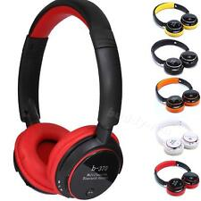 Wireless Bluetooth Headset Card MP3 Headphone FM Stereo for PC Phone Mobile BDRG