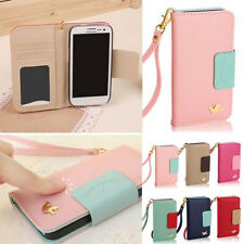 2014 New Wallet Card Holder PU Leather Flip Case Cover for Samsung Galaxy S5