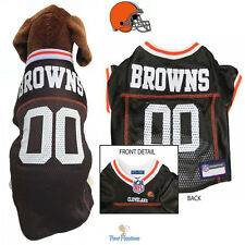 NFL Pet Fan Gear CLEVELAND BROWNS Jersey Shirt Tank for Dog Dogs Puppy XS-XL