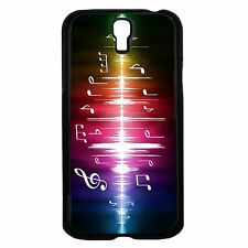 Colorful Music Notes Hard Snap Cell Phone Case For Samsung Galaxy S3 S4
