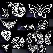 car stickers TRIBAL DESIGN / HEART, FLOWERS.... any colour !! any size !!!