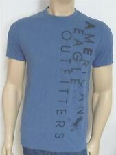 American Eagle Outfitters AEO Tee Mens Blue NYC Embroidered T-Shirt New NWT