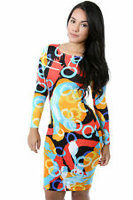 Covered In Paint Bodycon Dress Women Casual Cocktail Party giti online