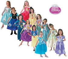 Child Licensed Disney Princess Girls Book Week Fancy Dress Kids Party Costume