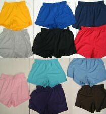 Girls Womens Juniors Soffe Shorts Shortie Shorty Jersey Casual Everyday Fashion