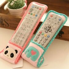 1pc Pretty Cartoon Cover Bag Protector For TV Air Conditioning Remote Control