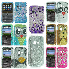 Rhinestone Bling Fitted Case/Skin Phone Cover for Samsung S390G
