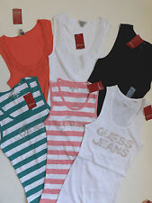 GUESS T-Shirt TANK TOP  NWT Size Large & XL
