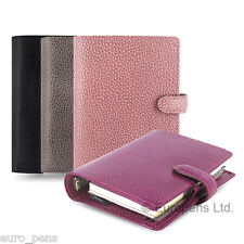 Filofax Finsbury Leather Pocket Size Organiser - All Colours Available