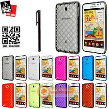 Anti-Slip TPU Gel Rubber Case Skin Cover for Galaxy Note SGH-i717 N7000 USeller