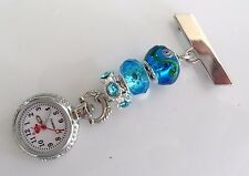 Nurses Charm Fob Watch Also For Beauticians, Healthcare Workers & Vets £5.99