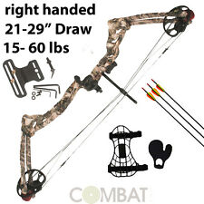 15lbs - 60lbs NEW PRO ATUNGA REX COMPOUND BOW AND ARROW ARCHERY, HUNTING