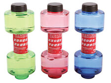 2x Dumbbell Shaped Sports Water Drink Bottle Office Lady Gym Exercise 550ml NEW
