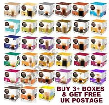 NESCAFE DOLCE GUSTO COFFEE CAPSULES PODS. BUY ANY 3 & GET FREE UK DELIVERY
