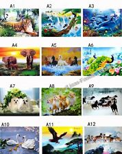 NEW 3D Pictures Posters Lenticular Art picture print Wall Decor Cute Animal