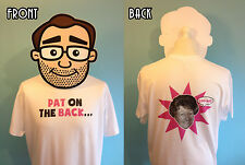 Pat Coombs Funny T-Shirt - Pat On The Back (You're Only Young Twice, Carry On)