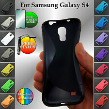 S-Line Flexible Silicone Gel TPU Case Back Cover for Samsung Galaxy S4 i9500