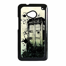 DR WHO DOCTOR WHO'S TIME LORD TARDIS HARD PHONE CASE HTC ONE M7 / M8 / M8 MINI 2