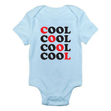 COOL - Humorous / Funny / Novelty / Short Sleeved Themed Baby Grow