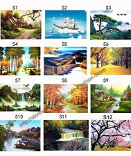 NEW 3D Pictures Posters Lenticular Art picture print Wall Decor Cute Scenery