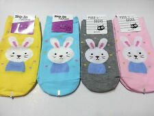 Made In Korea Rabbit Character Socks  Multi Color 1 Pair Free shipping