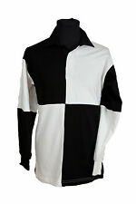 RUGBY SHIRT LONG SLEEVED HARLEQUIN FRONT ROW NEW FR02