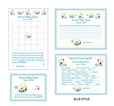 Baby Snoopy Baby Shower Game Package #1